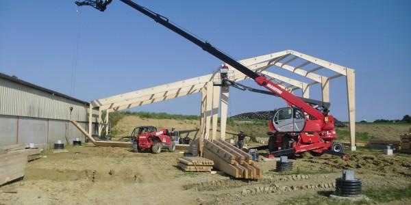 Bâtiment stockage fourrage